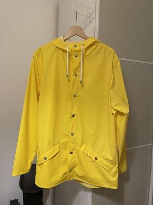 Rains Impermeabile pesante giallo