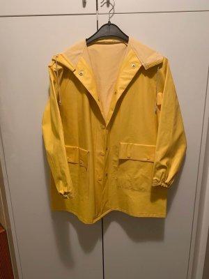 Raincoat gold orange