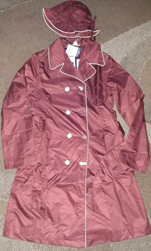 Blue Motion Heavy Raincoat bordeaux polyester