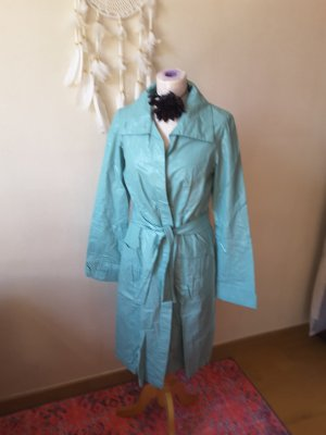 W.E.T: Heavy Raincoat turquoise