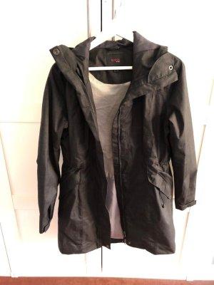 Tchibo / TCM Manteau de pluie brun noir-marron clair