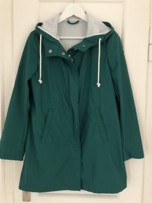 United Colors of Benetton Heavy Raincoat cadet blue