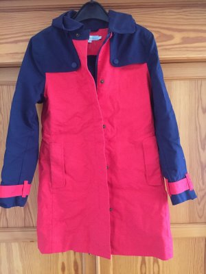 Boden Manteau de pluie rouge-bleu foncé