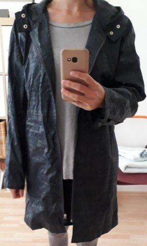 Nannini Regenjas donkerblauw-groen-grijs