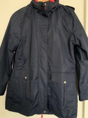 Keine Marke Heavy Raincoat dark blue