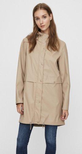 Vero Moda Płaszcz przeciwdeszczowy jasnobeżowy-beżowy