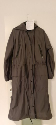 Next Heavy Raincoat dark green polyester
