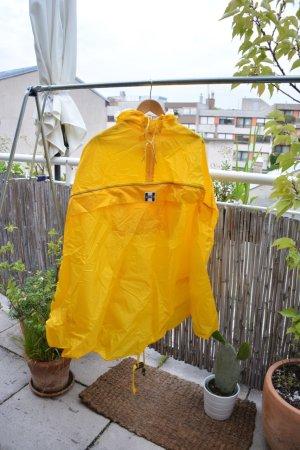 Regenponcho fürs Fahrradfahen gelb wie neu