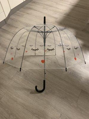Beauty Blooms Długi parasol jasnoszary