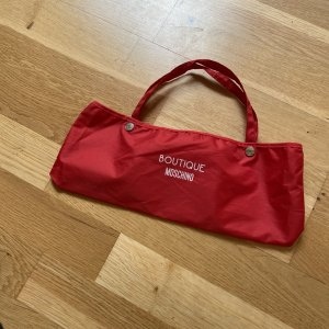 Boutique Moschino Opvouwbare paraplu rood-wit