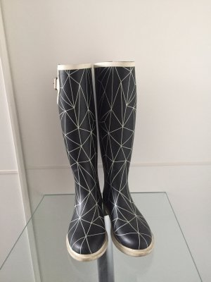 United nude Wellies black-white