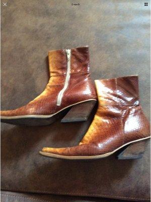 Regent Western Booties light brown
