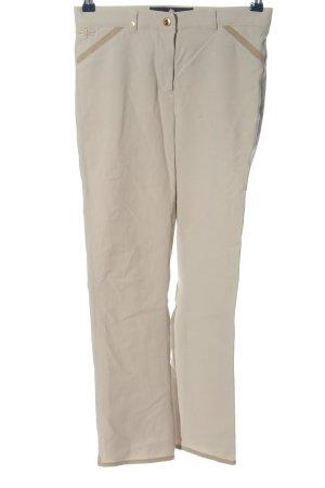 Reggiani Pantalon chinos blanc cassé style décontracté