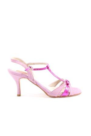 Regina High Heel Sandal pink elegant