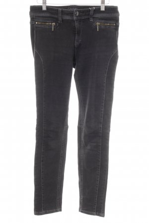 Regular Denim Stretch Jeans anthrazit Webmuster Casual-Look