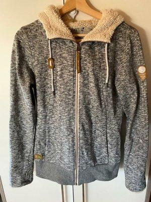regwear Shirtjack zwart-grijs