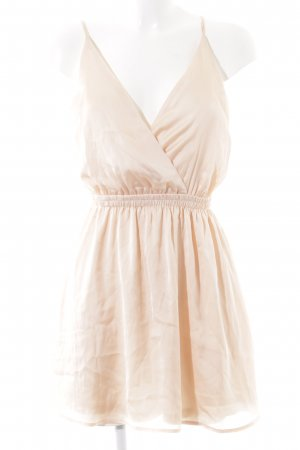 Rehab Chiffonkleid creme Casual-Look