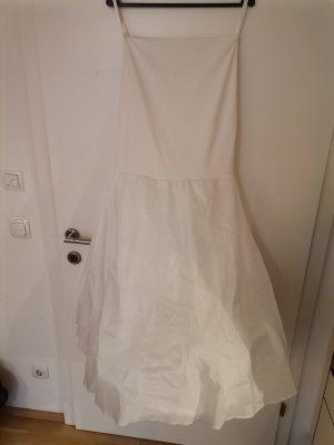 Poirier Wedding Dress natural white mixture fibre