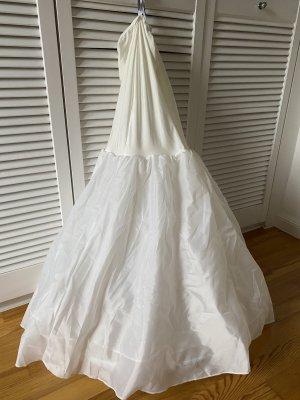 Krynolina w kolorze białej wełny-kremowy Tkanina z mieszanych włókien