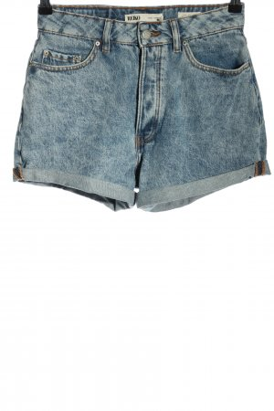 Reiko Hot Pants blau Casual-Look
