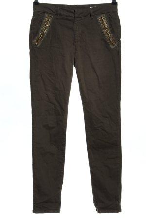 Reiko Straight-Leg Jeans braun Casual-Look
