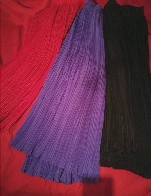 Heine Silk Skirt red