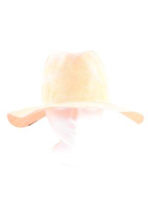 Reinhard Plank Kapelusz z filcu nude W stylu casual