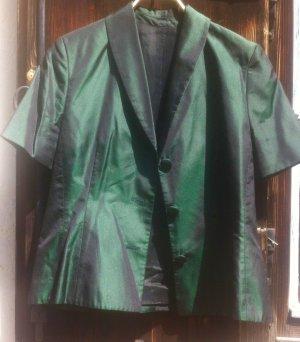 Reinseide-Taft, 40, neuwertig, Ateliermodell -Blusenjacket