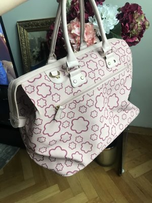 David Jones Weekender Bag dusky pink