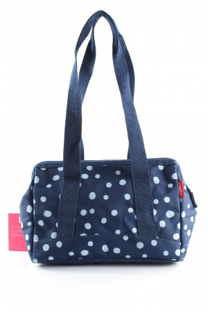 reisenthel Travel Bag blue-white allover print casual look
