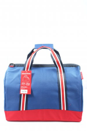 reisenthel Weekender Bag blue-red casual look
