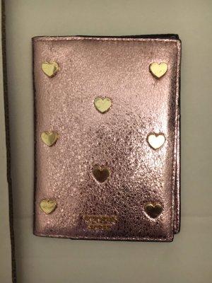 Victoria's Secret Custodie portacarte color oro rosa-oro