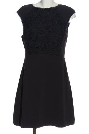 Reiss A-Linien Kleid schwarz Casual-Look