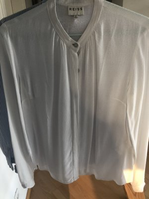Reiss Bluse Business weiß TOP