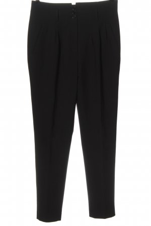 Reiss Bundfaltenhose schwarz Business-Look