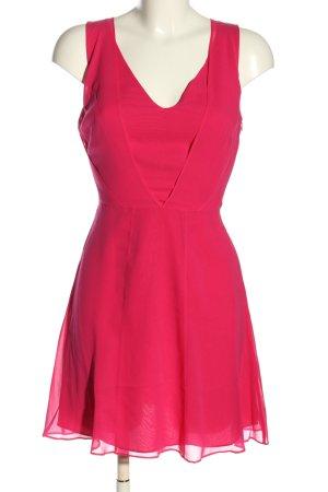 Reiss Chiffonkleid pink Casual-Look