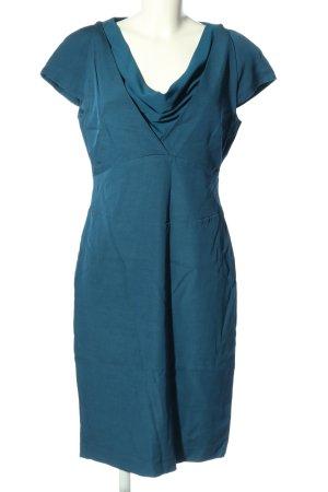 Reiss Sheath Dress blue mixture fibre
