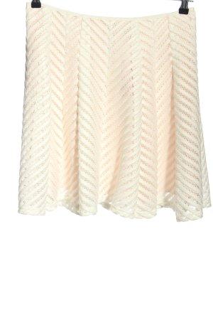 Reiss Falda de talle alto blanco puro look casual
