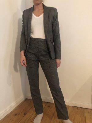 Reiss Tailleur-pantalon noir-blanc