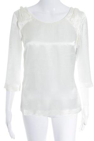 Reiss Langarm-Bluse wollweiß Elegant