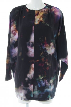 Reiss Long Blouse abstract pattern casual look