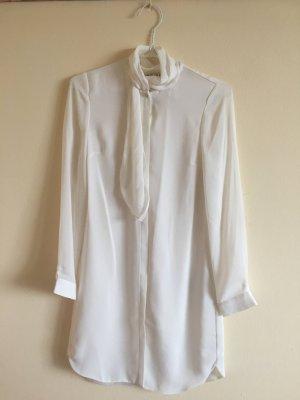 Reiss Longline Shirt mit Hals-Design, Größe 32/34