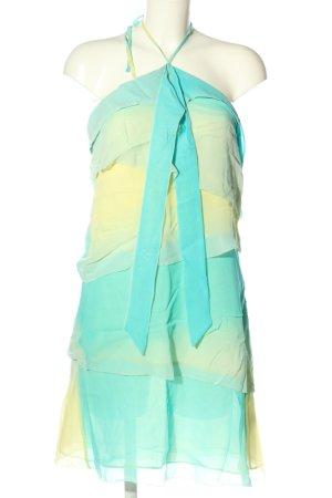 Reiss Vestido de cuello Halter degradado de color look casual