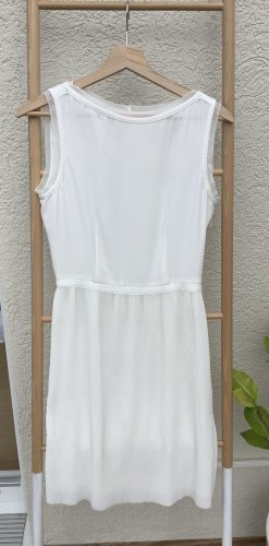 Reiss Cocktail Dress natural white polyester