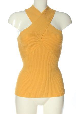 Reiss Chemise côtelée orange clair style décontracté