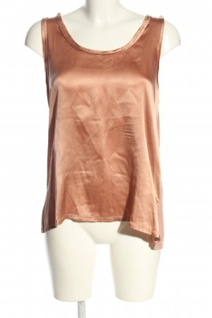 Reiss Top in seta color carne stile casual