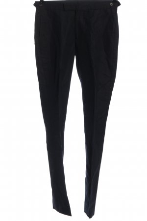 Reiss Pantalone jersey nero stile casual