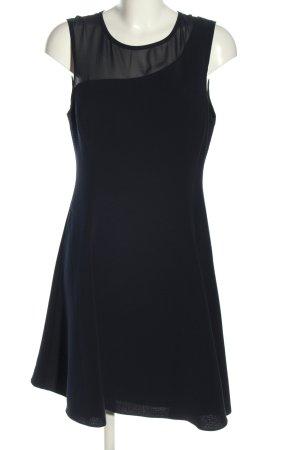 Reiss Stretchkleid blau Streifenmuster Elegant