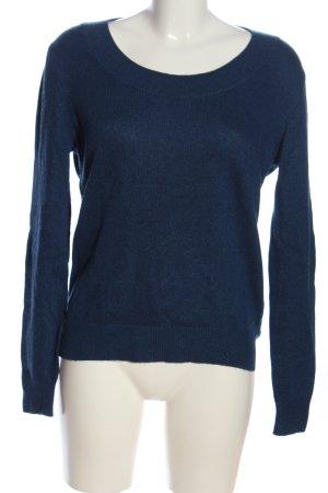 Reiss Maglione lavorato a maglia blu puntinato stile casual