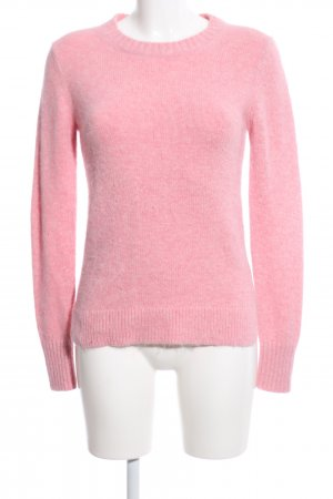 Reiss Strickpullover pink meliert Casual-Look